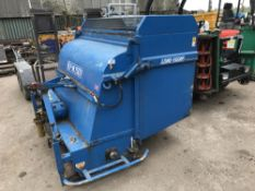 LM1501 FLAIL SCARIFIER COLLECTOR