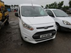 FORD TRANSIT CONNECT PANEL VAN REG: AY14HNU TESTED TILL 06/08/19, ONE OWNER FROM NEW, DIRECT FROM