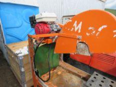PETROL ENGINED CLIPPER SAWBENCH
