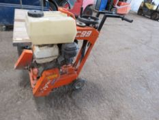 NORTON C99 FLOOR SAW, WHEN TESTED WAS SEEN TO START AND RUN