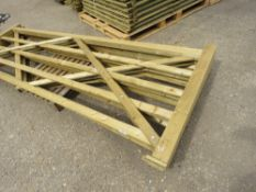 3 X 3.6METRE WIDE FIELD ENTRANCE GATES