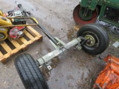 ALKO SINGLE AXLE TRAILER CHASSIS WITH RING HITCH