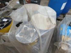 Pallet of space and dustbin heaters
