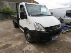 IVECO 35C11 TIPPER TRUCK. REG:GN10 LTZ, LONG TEST, KEY HAS BEEN PREVIOUSLY BROKEN BUT FUNCTIONAL.