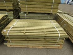 PALLET OF FENCE SLATTED PANELS, 1.8 X 0.9M APPROX
