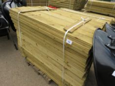 LARGE PACK OF FEATHER EDGE TIMBER CLADDING, 1.5M LENGTH