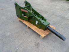 UNUSED YEAR 2019 EUROTEC HB340 BREAKER FOR 4 TO 8 TONNE EXCAVATOR. NB: THIS ITEM IS NOT LOCATED AT