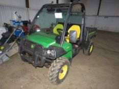 JOHN DEERE 855D GATOR YEAR 2013, REG:PY63 LZJ (LOG BOOK TO APPLY FOR) 1642 HOURS SHOWING. WHEN