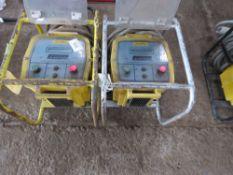 2X FUSAMATIC ELECTROFUSION CONTROL UNITS