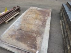 PACK OF PRE USED STEEL SHEETS