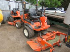 KUBOTA F2880 RIDE ON MOWER WITH OUT FRONT ROTARY DECK, YEAR 2014, 2670REC HRS REG:SF14 HXM WHEN