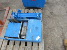 Winch unit plus mole launching unit