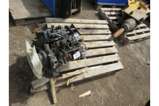 Yanmar 3TN66-UC 3-cylinder diesel engine