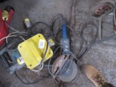 SMALL SIZED BREAKER, ANGLE GRINDER AND TRANSFORMER