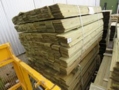2 X PACKS OF FEATHER EDGE TIMBER 1.5METRES X 10CM