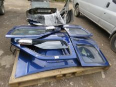 LARGE QUANTITY OF NISSAN NAVARA PANNELS AND ENGINE PARTS FROM 2002 TRUCK.