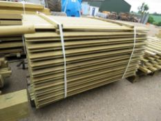 PALLET OF 1.1METRE LENGTH SHIP LAP TIMBER CLADDING