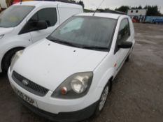 FORD FIESTA PANEL VAN REG: AV09 ZGP TESTED TILL 05/08/19, DIRECT FROM LOCAL COMPANY AS PART OF THEIR