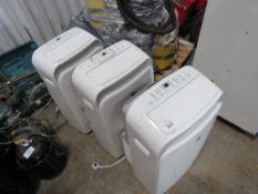 3 X PORTABLE 240 VOLT AIR CONDITIONER UNITS