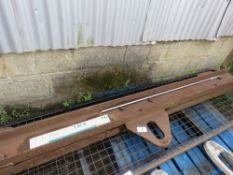 SPREADER LIFTING BEAM, 8FT LENGTH APPROX ,UNTESTED
