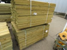2 X PALLETS OF 1.5M LENGTH FEATHER EDGE TIMBER