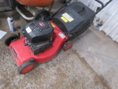 PETROL ENGINED MOWER COMPLETE WITH GRASS BOX