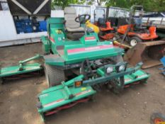RANSOMES 3510 COMMANDER 5 GANG MOWER 51HP, 2096 REC HRS WHEN TESTED WAS SEEN TO DRIVE, STEER,