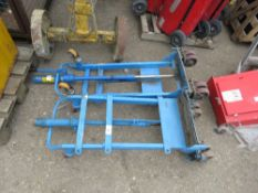 2no. Hydraulic lift sackbarrows