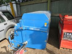 FM15101 tractor mounted flail/scarifier collector, pto in office