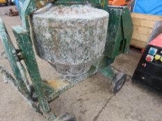 YANMAR ENGINED DIESEL MIXER, WHEN TESTED WAS SEEN TO RUN AND TUB TURNED