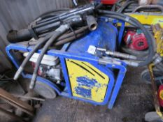 HYDRAULIC BREAKER PACK C/W HOSE AND GUN