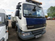 DAF 45.160 Johnson sweeper, reg. AE57 BDO, 70,217 rec.miles, with V5. Direct ex local company.…....