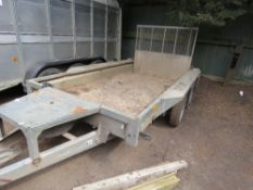 IFOR WILLIAMS WIDE BODY PLANT TRAILER SN:642954 DB CODE:EJ02315 YEAR 2014