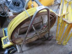 LARGE SIZED CABLE RODDING REEL
