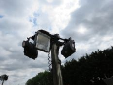 SMC TL90 tower light yr2007 with perkins engine PN: 6165FC when tested was seen run and make