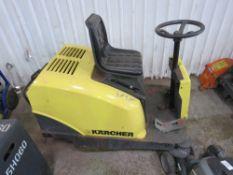 Karcher KMR 1050 petrol ride-on sweeper