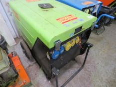 PRAMAC 6KVA DIESEL GENERATOR WHEN TESTED WAS SEEN TO RUN BUT OUTPUT UNTESTED