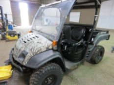 CUB CADET 4WD DIESEL ENGINED UTILITY TRUCK REG: WV12 FGV log book to apply for