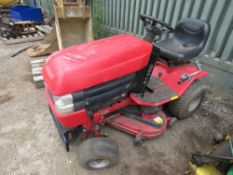 WESTWOOD S1300 RIDE ON MOWER when tested was seen to start, run and drive