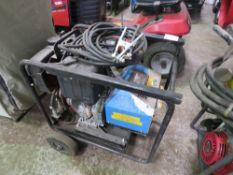 DIESEL ENGINED WELDER/GENERATOR C/W LEADS