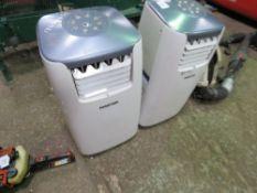 2 X MASTER PORTABLE AIR CONDITIONER UNITS