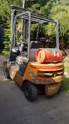 STILL R70.18G 1.8TONNE RATED GAS FORKLIFT TRUCK, 3 STAGE MAST WITH SIDE SHIFT. VENDORS COMMENTS:
