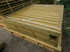 8X ASSORTED FENCE PANNELS