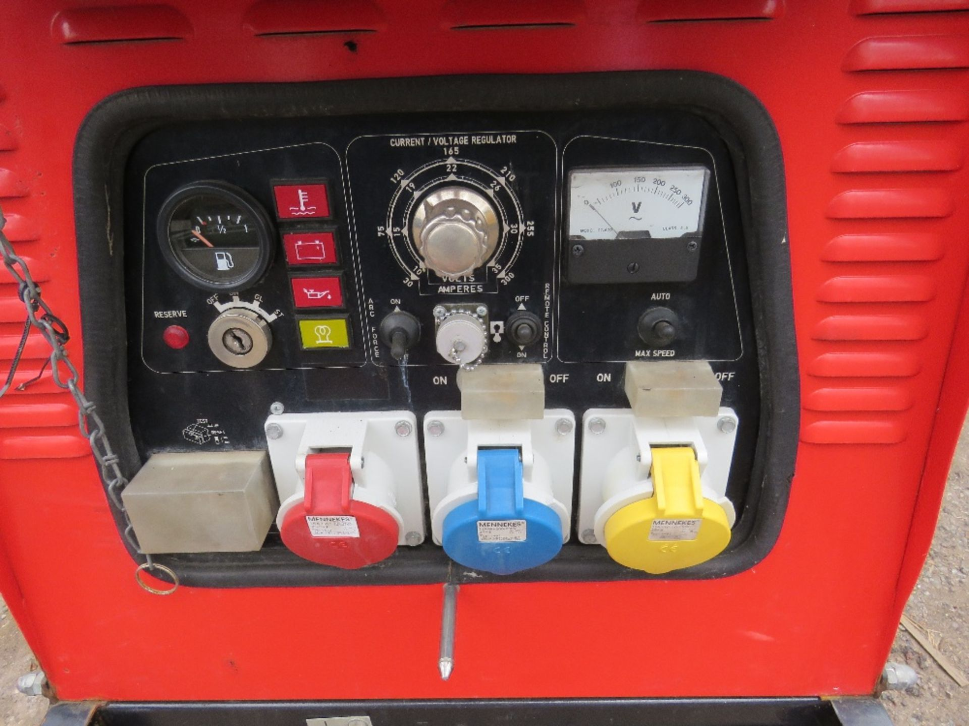 Lot 44 - GENSET MPM 8/300 AMP WELDER GENERATOR. WHEN TESTED WAS SEEN TO TURN OVER BUT NOT START