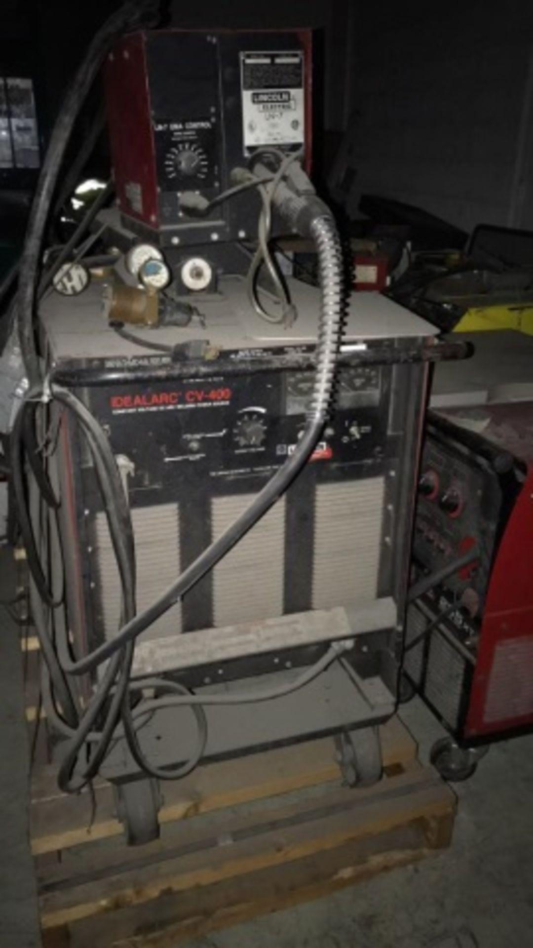 Lincoln Idealarc CV-400 DC Welding Power source