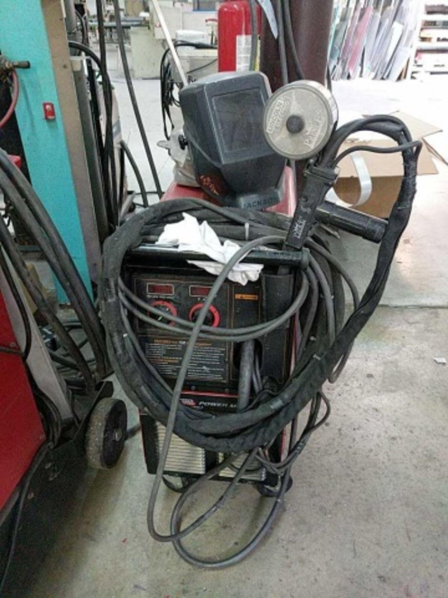 Lincoln Power Mig 255C Mig Welder