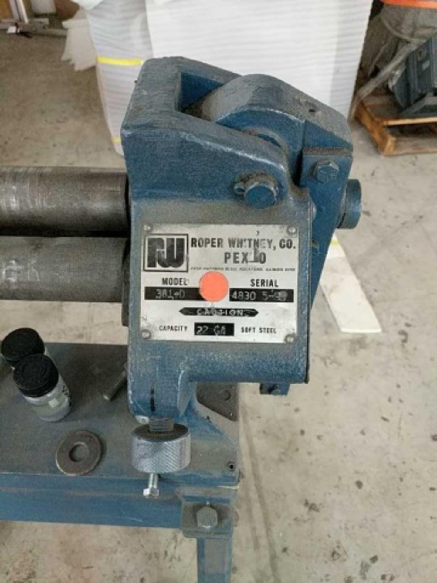 Pexto 381-D Bench Slip Roll Machine - Image 2 of 4