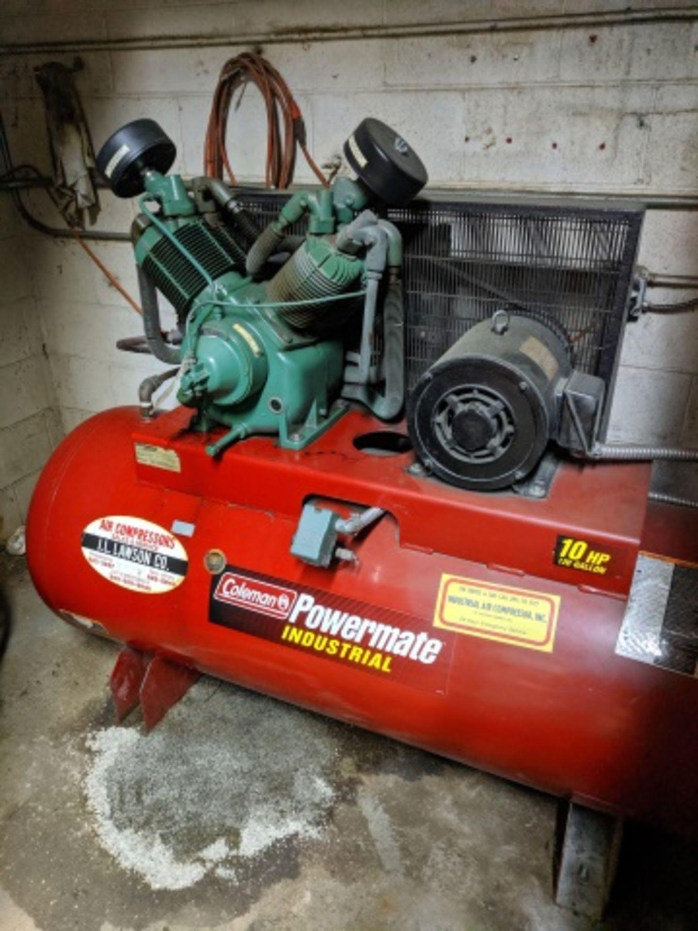 Coleman Powermate C10Z120H2C350 Air Compressor - Image 2 of 2