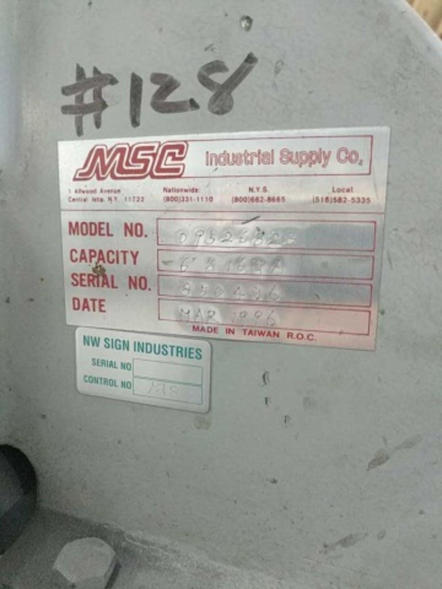 Lot 118 - MSC Corner Notchers - 09526823