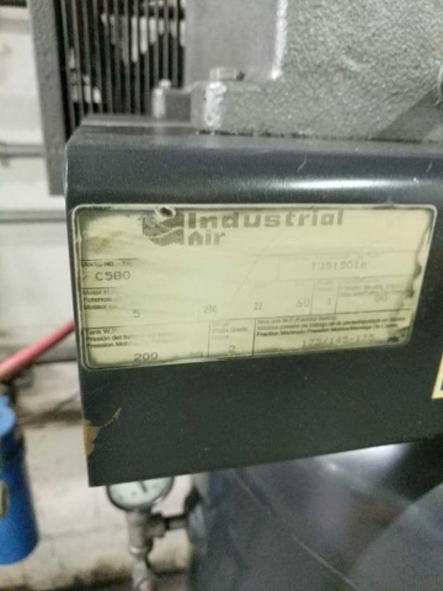 Industrial Air Machine C580 Air Compressor - Image 2 of 7